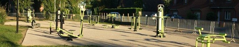 Parcours de fitness