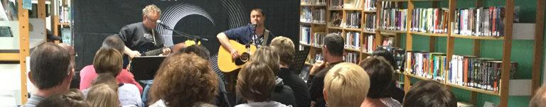 Mini concert à la Bibliothèque