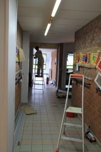 Travaux école Henri Puchois - avril 2016
